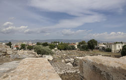 Elefsina, archaeological site Stock Image