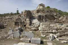 Elefsina, archaeological site Royalty Free Stock Photography