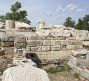 Elefsina, archeologiczny miejsce Fotografia Royalty Free