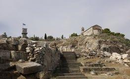 Elefsina, archeologiczny miejsce Zdjęcia Royalty Free