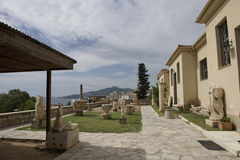 Elefsina, archeologiczny miejsce Fotografia Stock