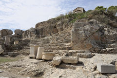 Elefsina, archeologische plaats Stock Afbeelding