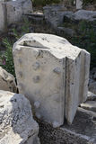 Elefsina, local arqueológico Imagens de Stock