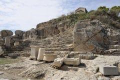Elefsina, local arqueológico Imagem de Stock