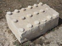 Elefsina, local arqueológico Fotografia de Stock Royalty Free