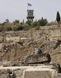 Elefsina, site archéologique Images libres de droits