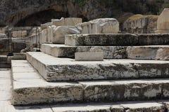 Elefsina, site archéologique Photo stock