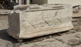 Elefsina, site archéologique Photographie stock
