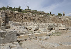 Elefsina, sitio arqueológico Fotografía de archivo