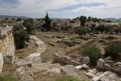 Elefsina, sitio arqueológico Fotos de archivo libres de regalías
