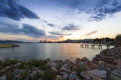 Elefsis port, Grecja Zdjęcie Royalty Free