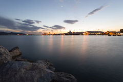 Elefsis port, Grecja Fotografia Royalty Free