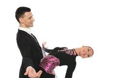 Elegância dos pares da dança Imagem de Stock