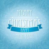 Eleganccy Boże Narodzenia i nowego roku szczęśliwy tło Royalty Ilustracja