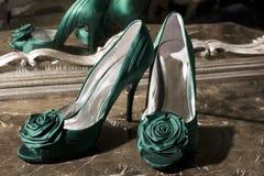 eleganccy buty fotografia royalty free