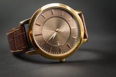Eleganccy mężczyzna ` s zegarki Zdjęcia Royalty Free