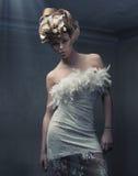 eleganccy piękno blondyny Zdjęcia Royalty Free