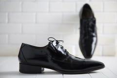 Eleganccy schoes dla mężczyzna Fotografia Royalty Free