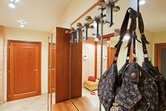 Elegance anteroom interior in warm tones Royalty Free Stock Photo