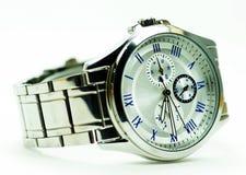 Elegance and beautiful wristwatch. Alarm,analog  ,chronometer,circle,clock,date,dial  ,elegance ,elegant,hand,hour Royalty Free Stock Image