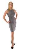 Elegance businesswoman isolated Royalty Free Stock Photos