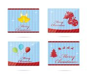 Elegance christmas symbols Stock Photo