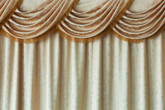 Elegance curtain Royalty Free Stock Image