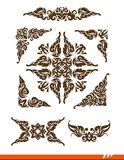 Elegance decorative vector set Royalty Free Stock Photos