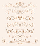 Elegance design elements Royalty Free Stock Image
