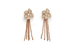 Elegance Earings Royalty Free Stock Photo