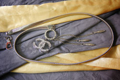 Elegance Earings Royalty Free Stock Images