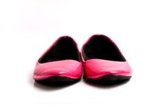Elegance flat shoe isolated on white background Royalty Free Stock Image