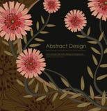 Elegance floral background Stock Image