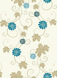 Elegance floral seamless background. Royalty Free Stock Photography