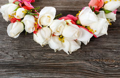 Elegance flower garland Royalty Free Stock Images