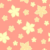 Elegance flower seamless pattern Royalty Free Stock Photos