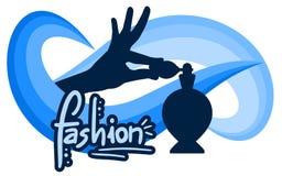 Elegance fragrance. Creative design of elegance fragrance Stock Photo