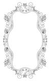 Elegance frame Royalty Free Stock Image