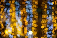 Blurred  bokeh lights Royalty Free Stock Photo