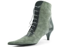 Elegance high heel boot Royalty Free Stock Images