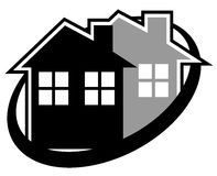 Elegance house icon Royalty Free Stock Photos