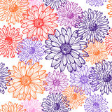 Elegance  lace floral seamless pattern Royalty Free Stock Photos