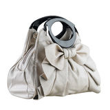 Elegant woman handbag isolated  Royalty Free Stock Images
