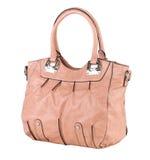 Elegance lady leather handbag Royalty Free Stock Photography