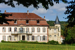 Elegance old french chateau in Alsace Stock Photography