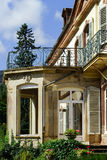 Elegance old french chateau in Alsace Royalty Free Stock Photos