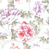 Elegance Ornamental Border Easy Making Vivid Repeating Floral Bac Royalty Free Stock Photos