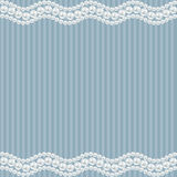 Elegance romantic background. With pearly borders. Blue elegance romantic background. With pearly borders. Vector illustration Royalty Free Stock Photo