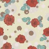 Elegance roses background Stock Image