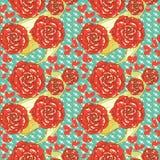 Elegance roses background Royalty Free Stock Image